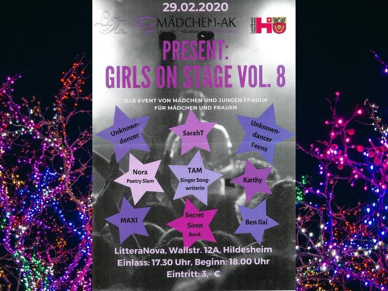 Bild vergrößern: Girls on Stage Vol. 8